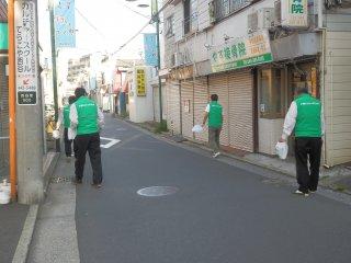 地域の清掃活動を行いました。【2019年5月】